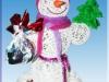 Как сделать снеговика своими руками.