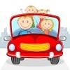 Как поиграть с малышом во время путешествия на автомобиле