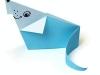 Мышонок оригами