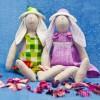 Кукла тильда кролик: Мастер-класс