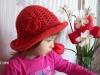 Шляпка для маленькой модницы: вязание крючком