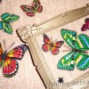 Поделки из старых вещей: панно «Бабочки разлетелись»