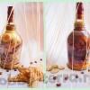 Прямой декупаж на стекле бутылки конъяка: «Корабль-призрак» мастер-класс с фото