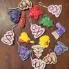 Новогодние игрушки своими руками из ткани