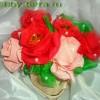 Мастер-класс: как собрать розу для букета из конфет