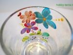 Идея по декорированию кружки витражными красками «Волшебные цветы»