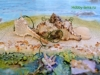 Морское панно «Следы путешествий»