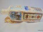 Идея декорирования бутылки «Морской бриз»