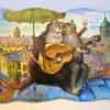 Ключница «Кошачья любовь»