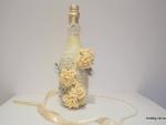 Декор бутылки шампанского «Счастье есть!»
