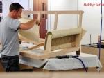 Ремонт мягкой мебели своими руками.