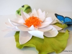 Водяная лилия из фоамирана