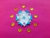Звезда оригами, сложенная из отдельных бумажных модулей. Мастер-класс
