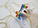 Уникальная елочная игрушка в виде собаки далматинца