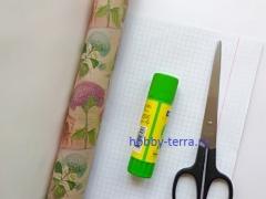 Как декорировать обложку тетради