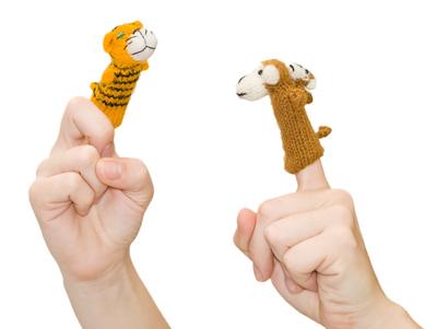 Пальчиковые-куклы-связанные-крючком
