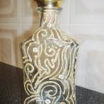 Роспись-бутылки-Ждем-высыхания-контура