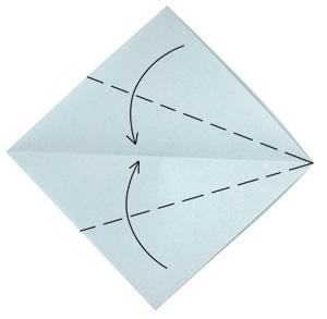 мышонок разворачиваем лист бумаги