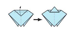 оригами божья коровка нарисуйте пятнышки
