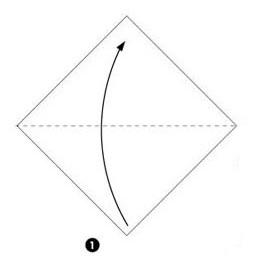 оригами лисенок