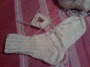 Как-связать-теплые-носочки---вяжем-резинку-6