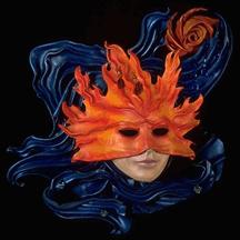 Маска-из-кожи-объемная-Deborah-Einbender