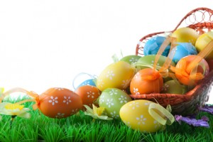 Пасхальные-крашеные-яйца