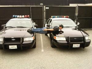 Планкинг-на-полицейских-машинах
