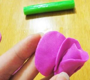 Роза-из-полимерной-глины-Мастер-класс-11