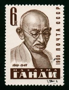 Филателия-Ганди