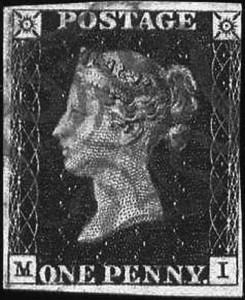 Самая-первая-почтовая-марка