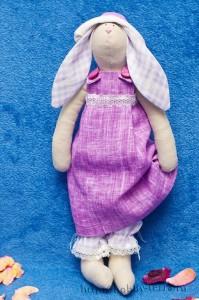 Тильда-кролик-девочка