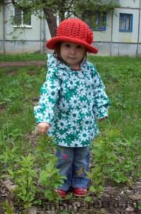 Детская-шляпка-вязаная-крючком