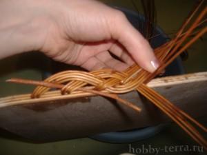 Плетение-из-лозы-загибки-Коса---ШАГ-9