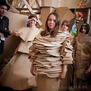Картония---примерьте-картонное-платье