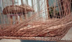 Плетение-из-лозы-в-технике-рядовое
