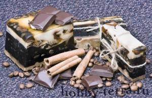 Мыло-кофе-шоколад