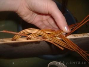 Плетение-из-лозы-загибки-Коса---ШАГ-8