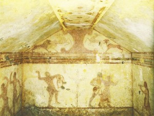 древняя-фреска