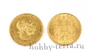 монета-более-100-лет-император-Франц-Джозеф