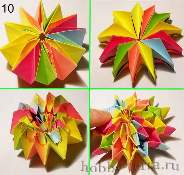оригами из бумаги с