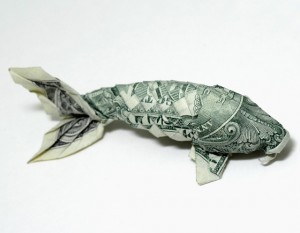 Один-доллар-рыба-Won-Park