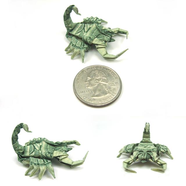 Один-доллар-скорпион-Won-Park