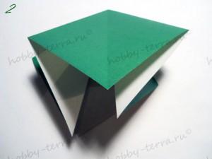 Новогодняя-оригами-елка-2