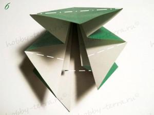 Новогодняя-оригами-елка-6