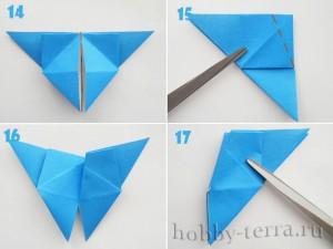 Оригами-бабочка-этапы-14-17