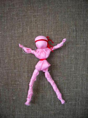 Сделать куколку своими руками