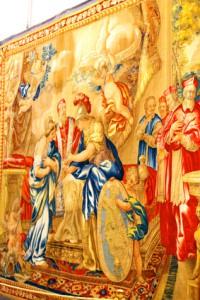 Музей-в-Ватикане.-Галерея-гобеленов-Рим