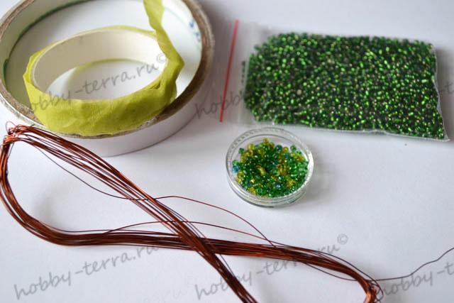 глициния из бисера мастер класс. бисероплетение для самых самых начинающих цветок ромашка. как сплести из бисера...