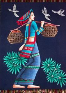 китайский-батик